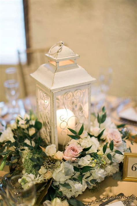 Elegant Blush And Gold Illinois Wedding Lantern