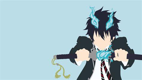 anime blue exorcist rin okumura ao no exorcist papel de