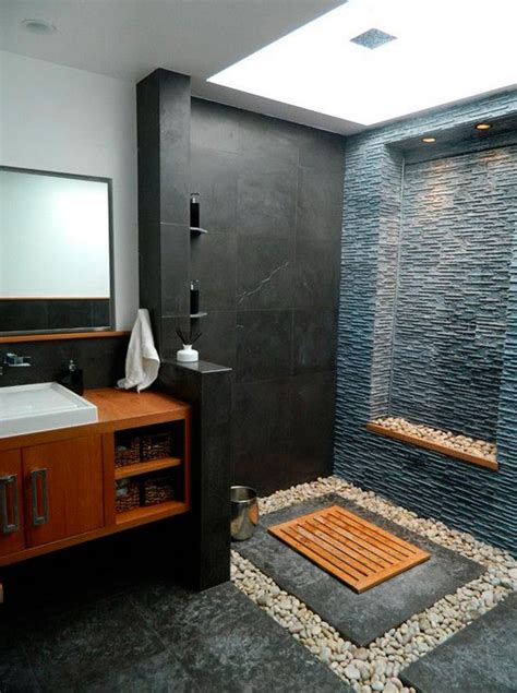 How To Create A Spa Bathroom by Create Your Own Spa Bathroom With Pebbles