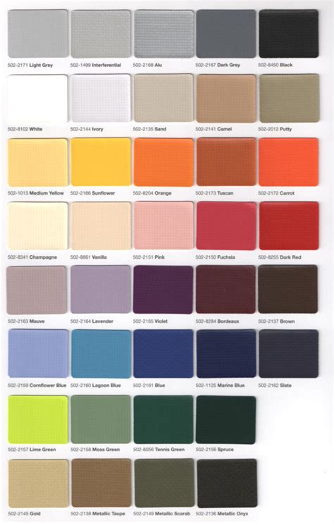 colors specifications accent awnings