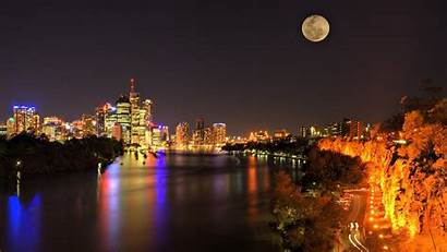 Cityscape Night Desktop Backgrounds Wallpapers Mobile