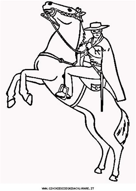 zorro coloring pages sketch coloring page