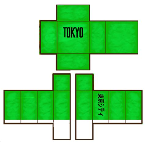 Roblox Shirt Template Green Mungfali