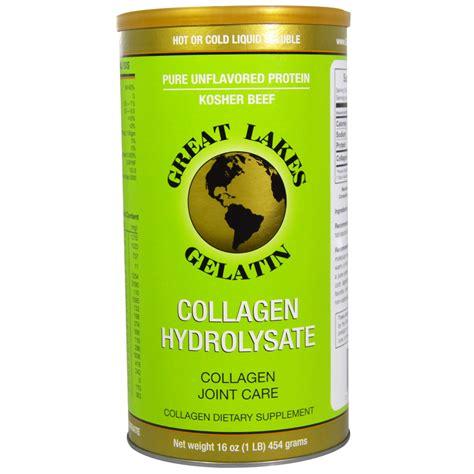 Great Lakes Gelatin Co., Collagen Hydrolysate, Collagen ...