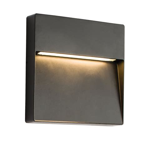 61342 tuscana outdoor led wall light guide
