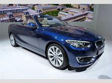 BMW 2er Cabrio LiveFotos von der Weltpremiere in Paris 2014