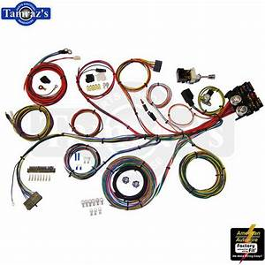 Custom Universal Hot Rat Rod Wiring Harness Kit