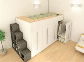 Solution Armoire Petit Espace by 15 Exles Of The Super Cool Loft Bed For Grownups