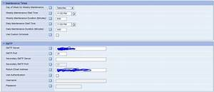 how to configure smtp email in wfo With avaya wfo