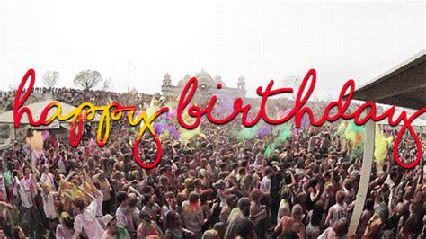 designer happy birthday gifs  send  friends