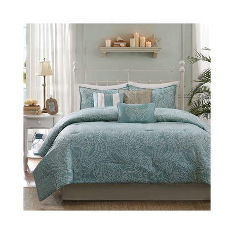 get madison park seaside 7 pc comforter set limited