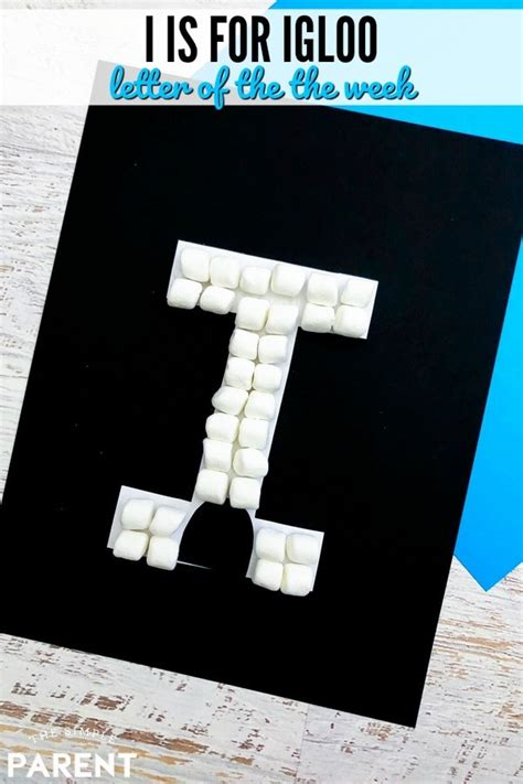 letter i craft i is for igloo letter of the week crafts 787 | letter i activity