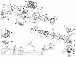 Dewalt D28402 Small Angle Grinder Parts  Type 2  Parts