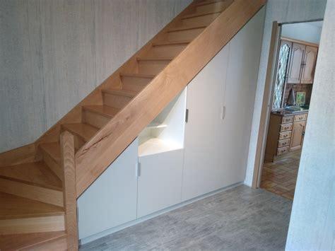 rangement sous escalier rangements sous escalier kiosque am 233 nagement