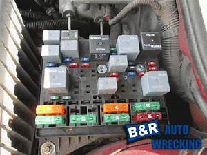 Pontiac Grand Am 2001 Fuse Box  24655158