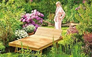 Holzwände Für Garten : gartenliege selber bauen anleitung von hornbach ~ Sanjose-hotels-ca.com Haus und Dekorationen