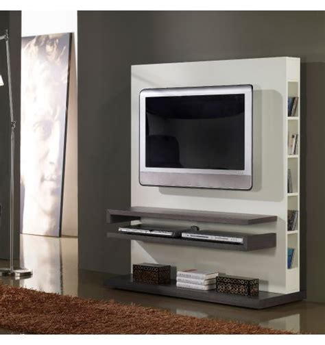 table cuisine blanc meuble tv design gris et blanc laqué deco et saveurs