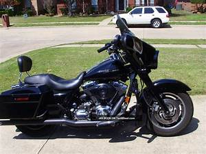 2007 Harley Davidson Street Glide Flhx Vivid Black