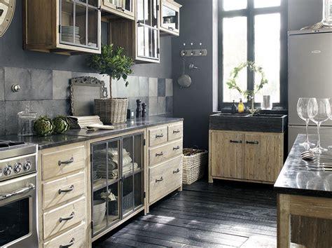 deco cuisine gris et noir mettez du noir dans la cuisine joli place