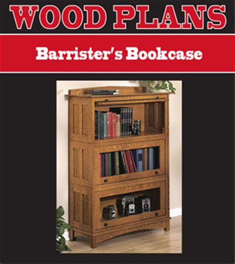 barrister bookcase popular woodworking san plans