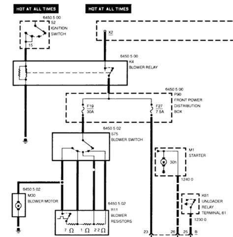 Bmw 118d Wiring Diagram by Diagnosing Blower Motor Or Resistor