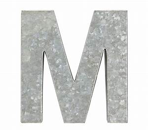 Galvanized Wall Letters Home Decor Products I Love