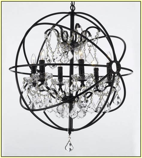 black wrought iron chandelier with shades home design ideas