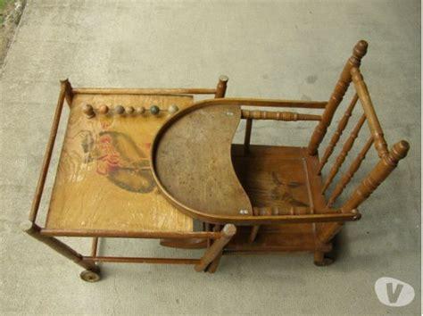 chaise haute en bois ancienne chaise haute ancienne bois clasf