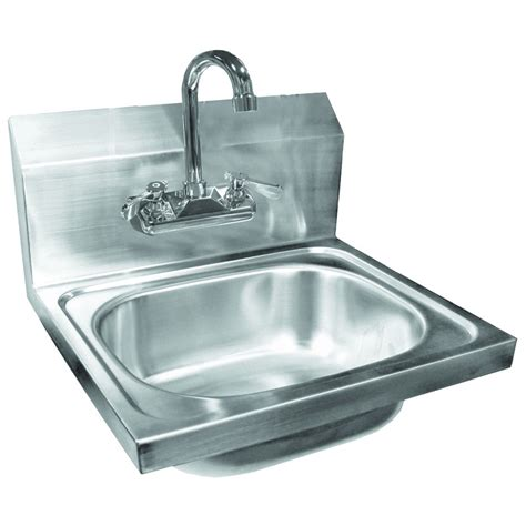 stainless wall mount sink stainless steel wall mount hand sink with no lead faucet