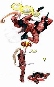 Deadpool and Lady Deadpool by zer03908 on DeviantArt