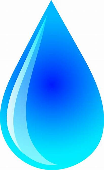 Water Clipart Cartoon Drops Droplet Clipartion Related