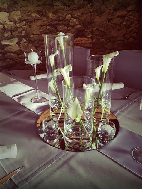 vase plat centre de table mariage centre de table lumineux mariage dcoration table mariage