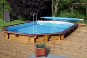 Piscine Semi Enterrée Composite : piscine semi enterr e conseils prix installation ~ Dailycaller-alerts.com Idées de Décoration