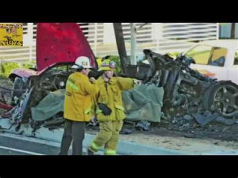 Wallker Face - R.I.P Paul Walker Died In Car Crash Killed