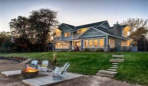 Coquette maison en bois avec un magnifique jardin aux USA Construire Tendance