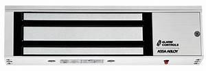1200l  1200lb Single Magnetic Lock  Status Led  Maglocks