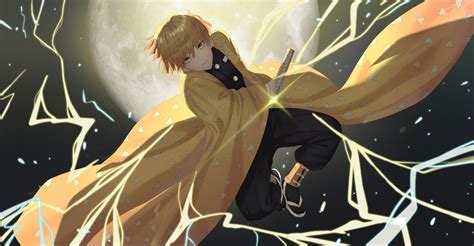 zenitsu  wallpaper hd anime  wallpapers images