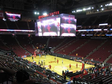 Toyota Center by Toyota Center Guide Itinerant Fan