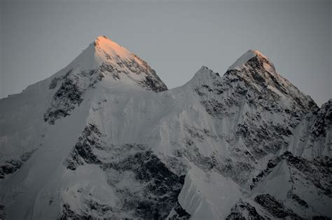 40 Gasherbrum Ii, Gasherbrum Iii North Faces At The End Of