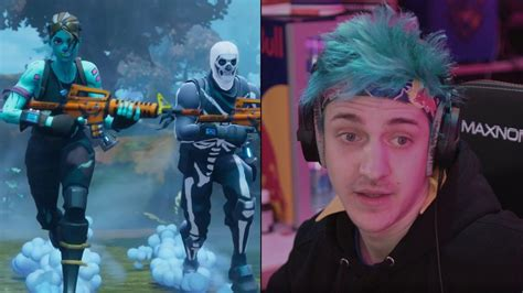 ninja criticizes fortnite pro players   negative