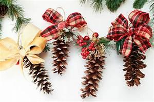 DIY Pine Cone Ornaments Domestically Creative