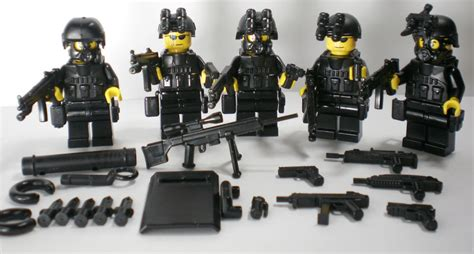 (no.5-22) Custom Swat Police Navy Seal Lego Gun Army