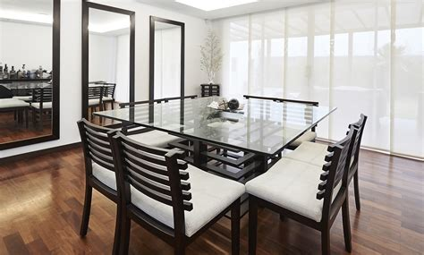 mesas de comedor modernas imujer