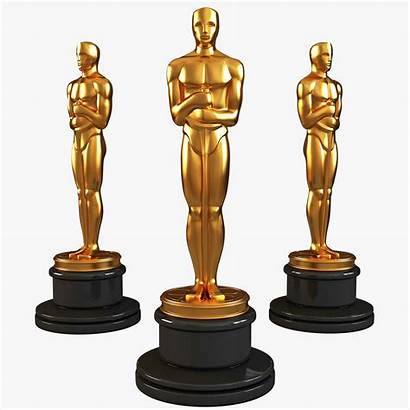 Oscar Statuette Statue 3d Hollywood Oscars Drawing