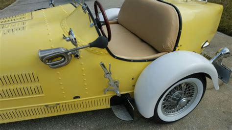 Bugatti Factory Location by 1927 Bugatti Replica Factory Built On A 1969 Volkswagon