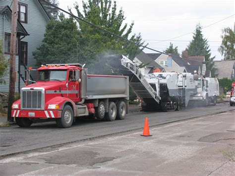 Dump Truck by End Dump Truck Pavement Interactive