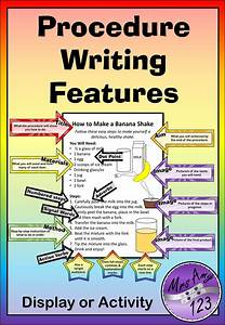 Procedure Writing Features