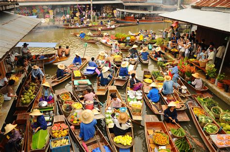 Floating Market Experience Thrilling Thai Tours