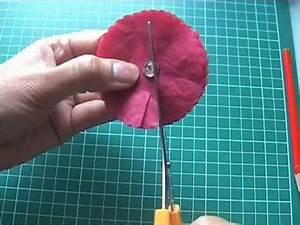 Fleur En Papier De Soie : tutoriel embellissement marguerite en papier de soie youtube ~ Nature-et-papiers.com Idées de Décoration