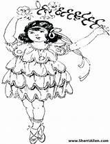 Coloring Dancer Pages Hula Flamenco Dance Dancers Ballet Cartoon Getcolorings Printable Sherriallen sketch template